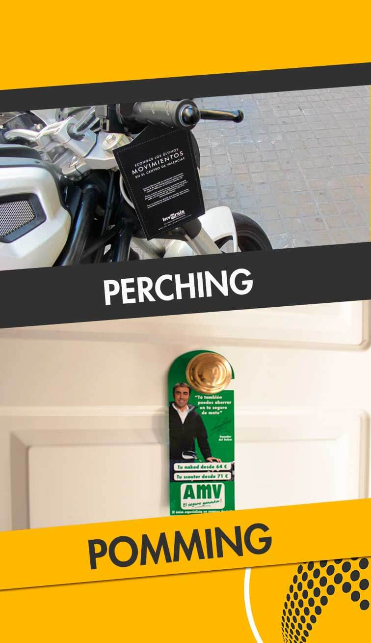 servicios de perching y poming Parla